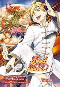 Food Wars! - Shokugeki no Soma 15 - Klickt hier für die große Abbildung zur Rezension