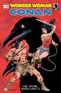 Wonder Woman/Conan - Klickt hier für die große Abbildung zur Rezension