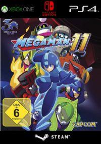 Mega Man 11 - Klickt hier für die große Abbildung zur Rezension