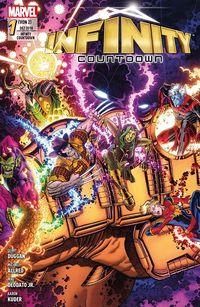 Infinity Countdown 1: Die Steine der Macht  - Klickt hier für die große Abbildung zur Rezension