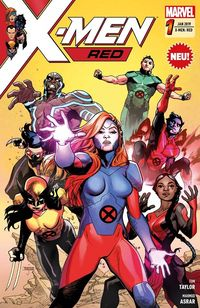 X-Men: Red 1 - Klickt hier für die große Abbildung zur Rezension