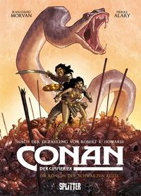 Conan der Cimmerier 1: Königin der Schwarzen Küste - Klickt hier für die große Abbildung zur Rezension