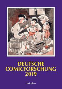 Deutsche Comicforschung 2019 - Klickt hier für die große Abbildung zur Rezension