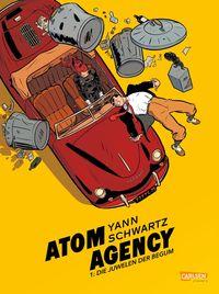 Atom Agency 1 - Klickt hier für die große Abbildung zur Rezension