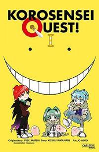 Korosensei Quest 1 - Klickt hier für die große Abbildung zur Rezension