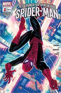 PETER PARKER: DER SPEKTAKULÄRE SPIDER-MAN 1 - Im Netz der Nostalgie - Klickt hier für die große Abbildung zur Rezension