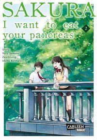 Sakura – I Want to eat your pancreas 2 - Klickt hier für die große Abbildung zur Rezension