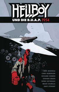 Hellboy 17: Hellboy und die B.U.A.P. 1954 - Klickt hier für die große Abbildung zur Rezension