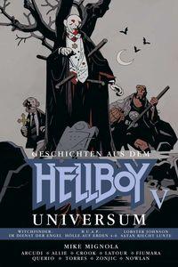 Geschichten aus dem Hellboy Universum 5 - Klickt hier für die große Abbildung zur Rezension