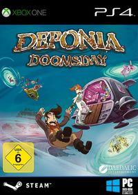 Deponia Doomsday (Konsolen) - Klickt hier für die große Abbildung zur Rezension
