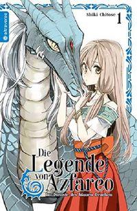 Die Legende von Azafareo – Im Dienste des blauen Drachen 1 - Klickt hier für die große Abbildung zur Rezension