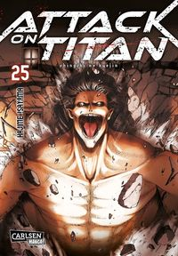 Attack on Titan 25 - Klickt hier für die große Abbildung zur Rezension
