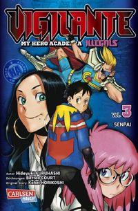 Vigilante – My Hero Academia Illegals 3 - Klickt hier für die große Abbildung zur Rezension