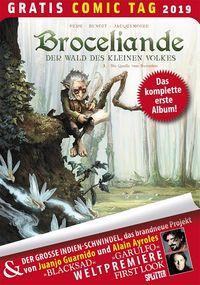 Broceliande – Der Wald des kleinen Volkes – Gratis Comic Tag 2019 - Klickt hier für die große Abbildung zur Rezension
