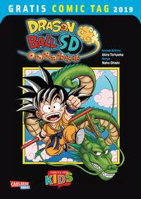 Gratis Comic Tag 2019: Dragon Ball SD - Klickt hier für die große Abbildung zur Rezension