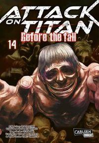 Attack on Titan – Before the Fall 14 - Klickt hier für die große Abbildung zur Rezension