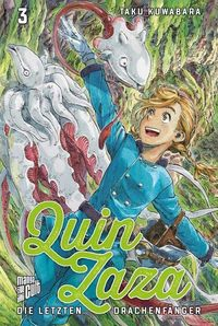 Quin Zaza – Die letzten Drachenfänger 3 - Klickt hier für die große Abbildung zur Rezension
