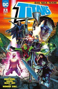 Titans (Rebirth) 5: Die neuen Titanen  - Klickt hier für die große Abbildung zur Rezension