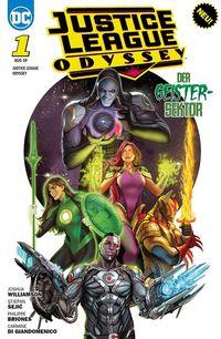 Justice League Odyssee 1: Geistersektor  - Klickt hier für die große Abbildung zur Rezension