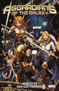 Asgardians of the Galaxy 1: Wächter der Götterwelt  - Klickt hier für die große Abbildung zur Rezension
