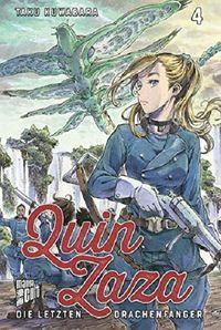 Quin Zaza – Die letzten Drachenfänger 4 - Klickt hier für die große Abbildung zur Rezension