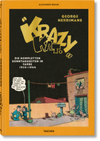 Krazy Kat. Die kompletten Sonntagsseiten in Farbe 1935-1944 - Klickt hier für die große Abbildung zur Rezension