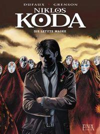 Niklos Koda 15: Die letzte Maske - Klickt hier für die große Abbildung zur Rezension