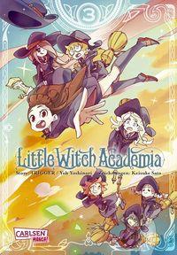 Little Witch Academia - Klickt hier für die große Abbildung zur Rezension