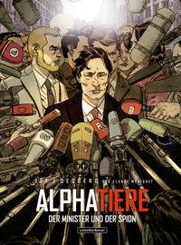 Alphatiere – Der Minister und der Spion - Klickt hier für die große Abbildung zur Rezension