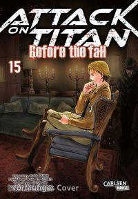 Attack on Titan – Before the Fall 15 - Klickt hier für die große Abbildung zur Rezension