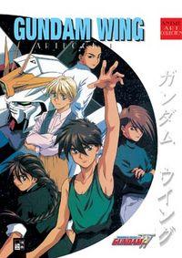 Gundam Wing Artbook 1 - Klickt hier für die große Abbildung zur Rezension