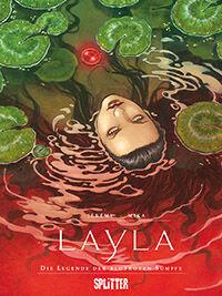 Layla: Die Legende der blutroten Sümpfe - Klickt hier für die große Abbildung zur Rezension