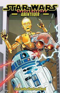 Star Wars Abenteuer 6: Zwei außer Rand und Band  - Klickt hier für die große Abbildung zur Rezension