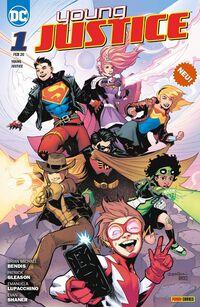 Young Justice 1: Sieben Krisen - Klickt hier für die große Abbildung zur Rezension