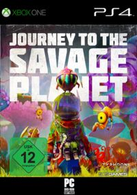 Journey to the Savage Planet - Klickt hier für die große Abbildung zur Rezension