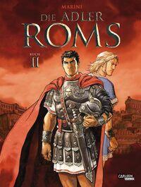 Die Adler Roms – Hardcover Bd. 2 - Klickt hier für die große Abbildung zur Rezension