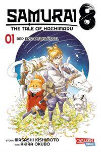 Samurai 8 – The Tale of Hachimaru 1 - Klickt hier für die große Abbildung zur Rezension