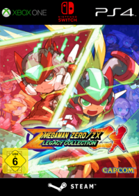 Mega Man Zero/ZX Legacy Collection - Klickt hier für die große Abbildung zur Rezension