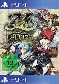 Ys - Memories of Celceta - Klickt hier für die große Abbildung zur Rezension