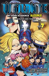 Vigilante – My Hero Academia Illegals 7 - Klickt hier für die große Abbildung zur Rezension