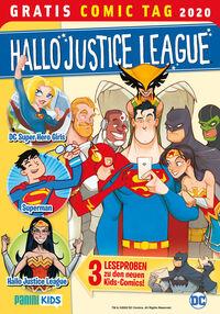 Hallo Justice League – Gratis Comic Tag 2020 - Klickt hier für die große Abbildung zur Rezension