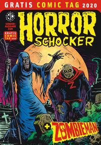 Horrorschocker + Zombieman – Gratis Comic Tag 2020  - Klickt hier für die große Abbildung zur Rezension