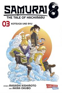 Samurai 8 – The Tale of Hachimaru 3 - Klickt hier für die große Abbildung zur Rezension