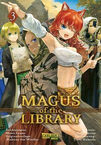 Magus of the Library 3 - Klickt hier für die große Abbildung zur Rezension