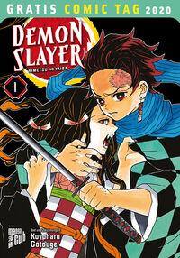 Demon Slayer - Gratis Comic Tag 2020 - Klickt hier für die große Abbildung zur Rezension