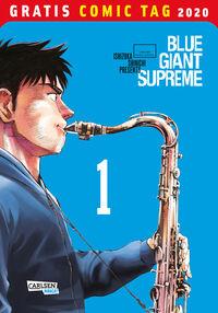 Blue Giant Supreme - Gratis Comic Tag 2020 - Klickt hier für die große Abbildung zur Rezension