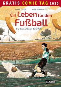 Ein Leben für den Fußball – Gratis Comic Tag 2020 - Klickt hier für die große Abbildung zur Rezension