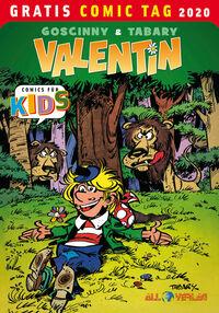Valentin – Gratis Comic Tag 2020 - Klickt hier für die große Abbildung zur Rezension
