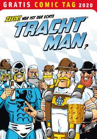 Tracht Man – Gratis Comic Tag 2020  - Klickt hier für die große Abbildung zur Rezension