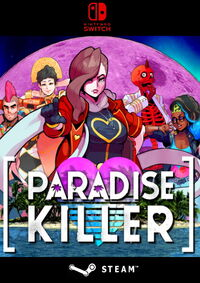 Paradise Killer - Klickt hier für die große Abbildung zur Rezension